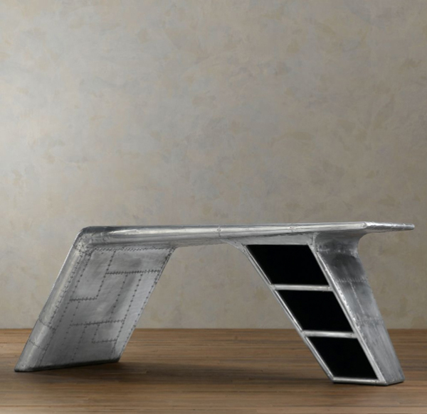 Modern Aviator Wing Desk