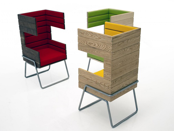 "Eye-Catching ""Gi Booth"" Chair by Jakob Gomez6"