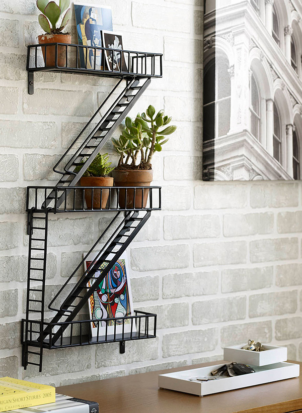 Fire Escape Wall Shelf7