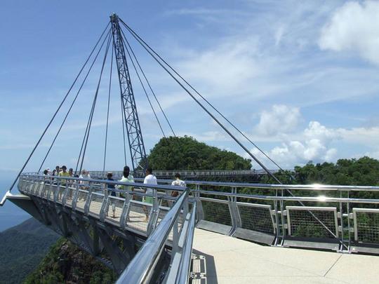 マレーシア、ランカウイ島のスカイブリッジ2