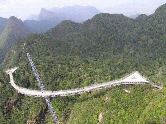 マレーシア、ランカウイ島のスカイブリッジ12