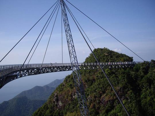 マレーシア、ランカウイ島のスカイブリッジ6