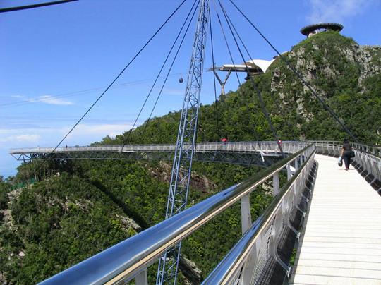 マレーシア、ランカウイ島のスカイブリッジ7