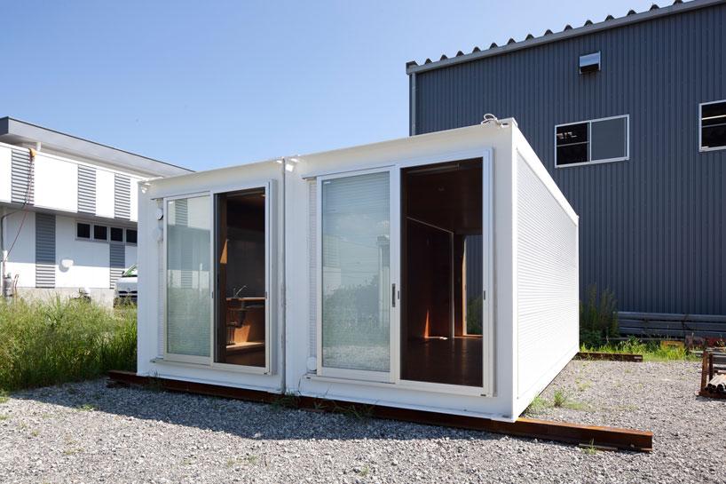 建築家吉村靖孝氏がデザインしたコンテナハウス。2