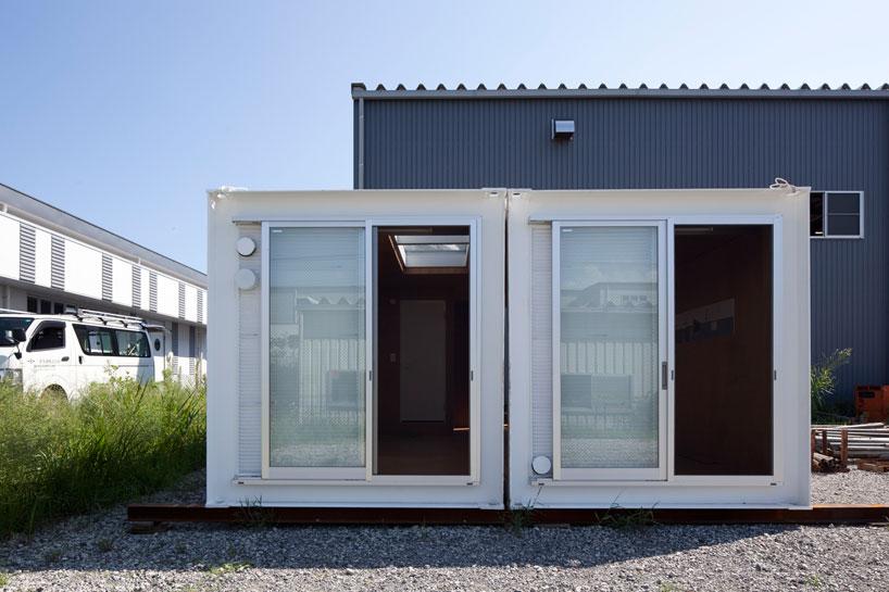 建築家吉村靖孝氏がデザインしたコンテナハウス。