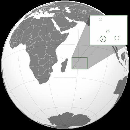 モーリシャス共和国にある「海中にある巨大な滝」