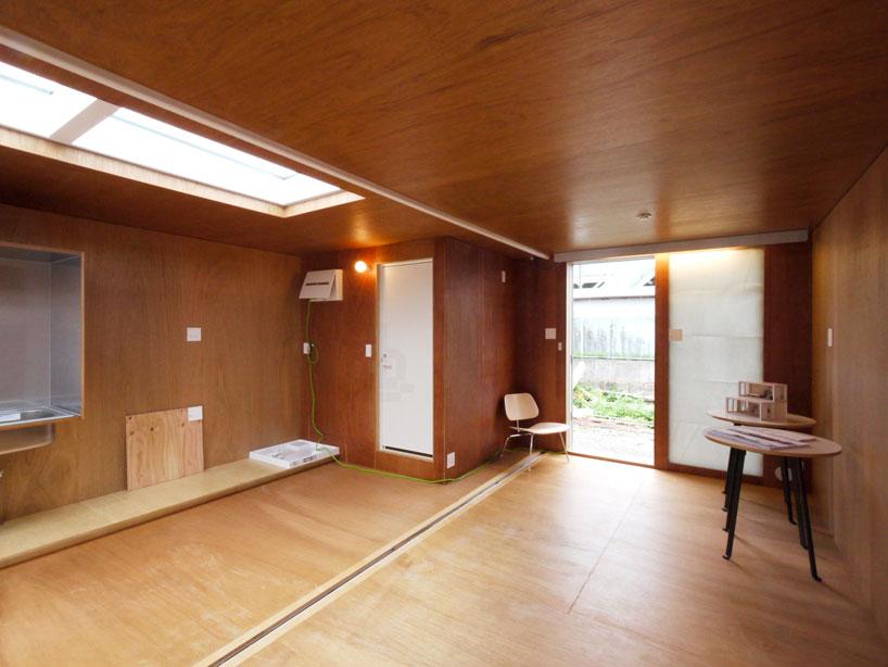 建築家吉村靖孝氏がデザインしたコンテナハウス。5