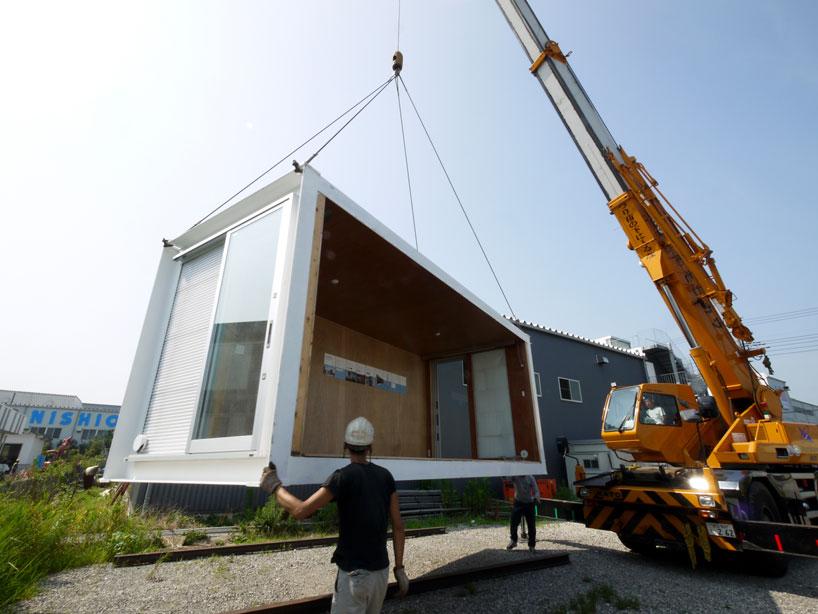 建築家吉村靖孝氏がデザインしたコンテナハウス。4