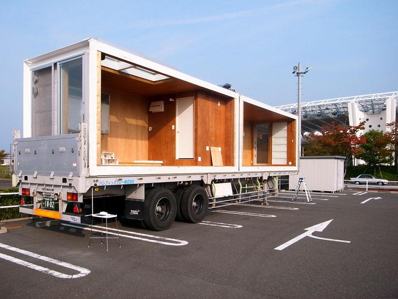 建築家吉村靖孝氏がデザインしたコンテナハウス。3