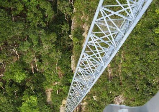 マレーシア、ランカウイ島のスカイブリッジ9