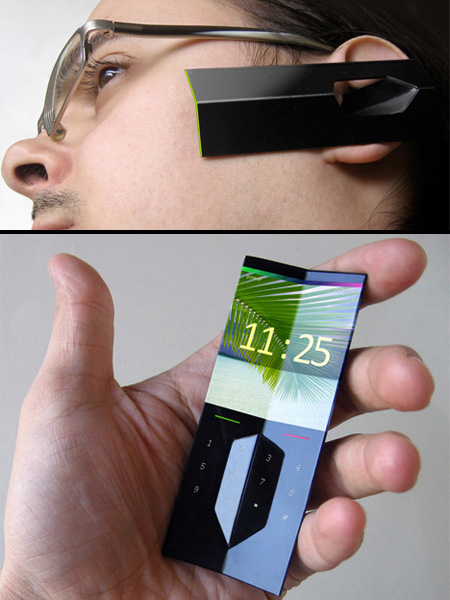 Futuristic Cell Phone Concepts