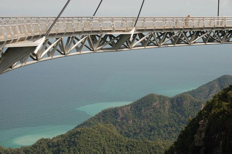 マレーシア、ランカウイ島のスカイブリッジ
