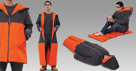 ユニークな寝袋5