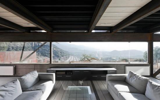 輸送用コンテナでつくった豪邸。小高い丘に建つ高級感溢れるコンテナハウス「casa oruga」16