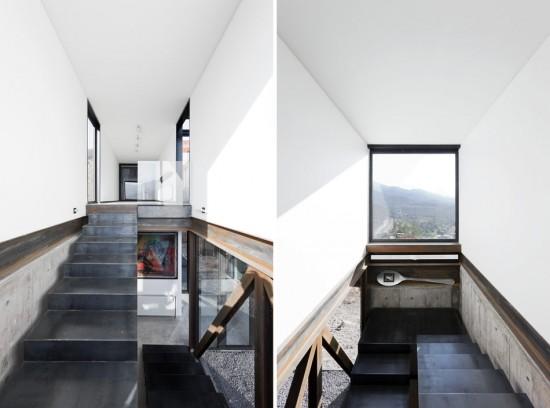 輸送用コンテナでつくった豪邸。小高い丘に建つ高級感溢れるコンテナハウス「casa oruga」19