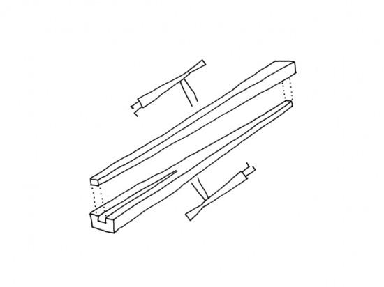 kamiai ひっくり返すと磁石で固定される箸