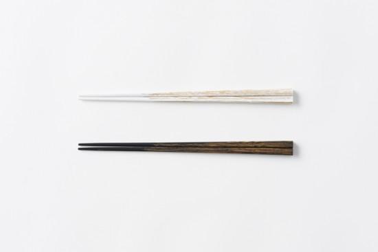 udukuri 木目をそのまま柄にした箸
