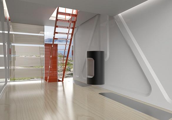 環境に配慮した三階建ての家「Isolée」