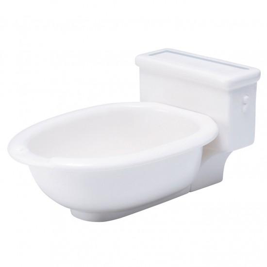 便器の形のカレー皿