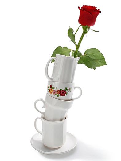 Tea Party Vase