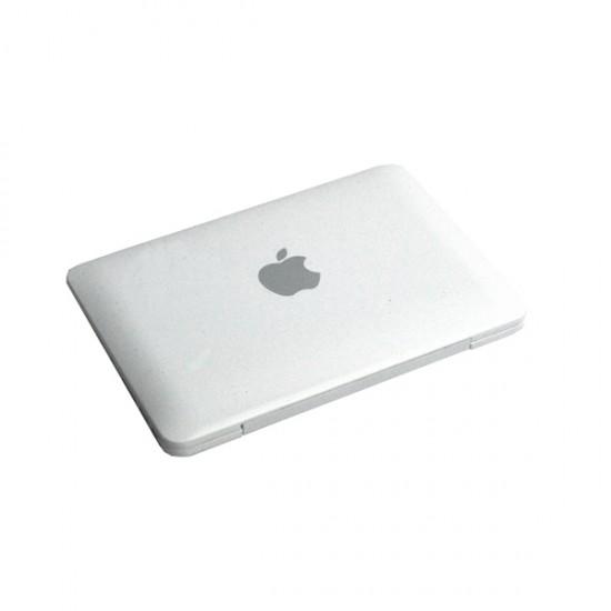 MacBookAir(マックブックエアー)とiPad(アイパッド)の形をした手鏡。
