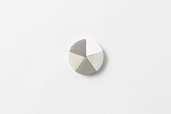 円グラフのような形のふせん「circle tag」2