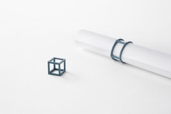 立体的な輪ゴム「cubic rubber-band」2