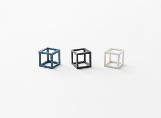 立体的な輪ゴム「cubic rubber-band」3