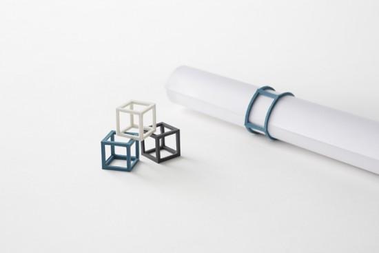 立体的な輪ゴム「cubic rubber-band」4