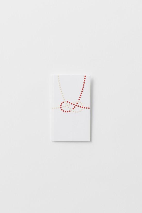単純なドットのみで表現した「のし袋」「 dot envelope」8