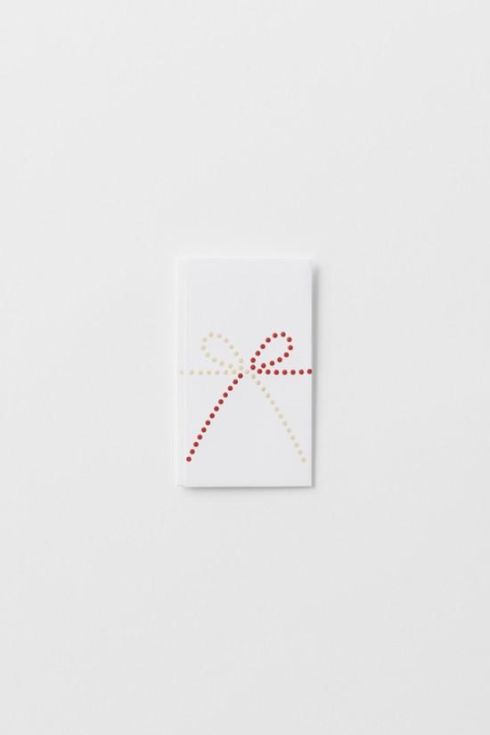 単純なドットのみで表現した「のし袋」「 dot envelope」9