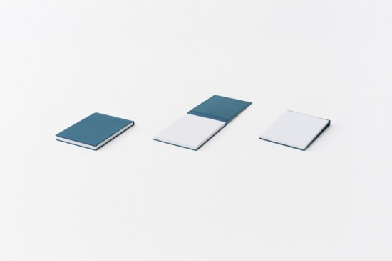 ハードカバー仕様のメモパッド「 hard cover memo-pad」4