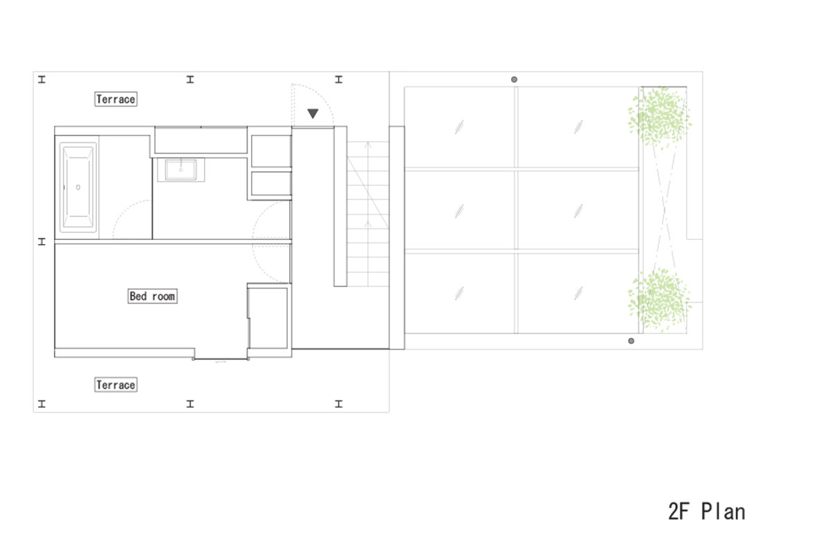 永山祐子建築設計 katsutadai residence