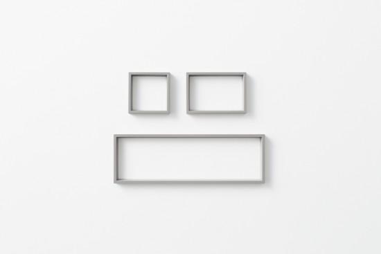「器」ではなく、「輪郭線」によってデスク上の小物を整理するトレー「 outline tray」3