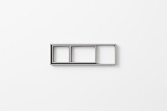 「器」ではなく、「輪郭線」によってデスク上の小物を整理するトレー「 outline tray」4