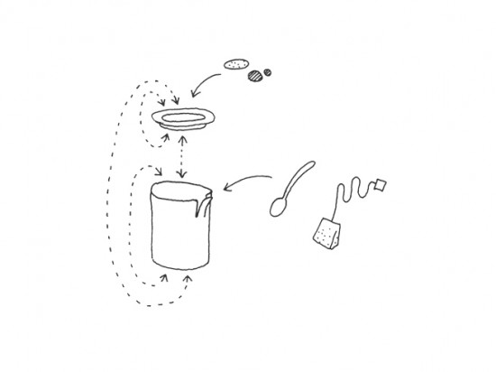 コップの一部が「めくれた」ことにより機能性を高めたコップ「peel」