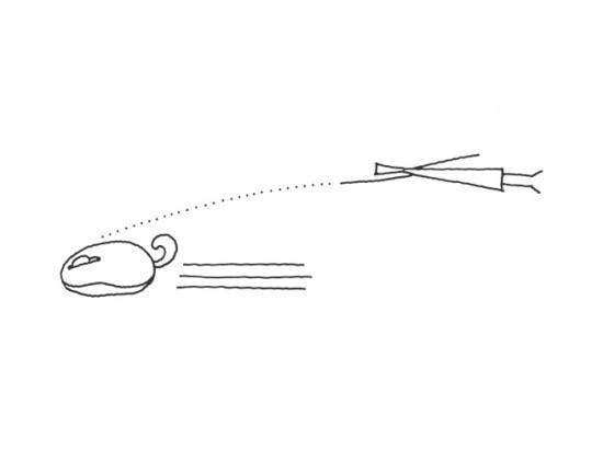 さまざまな動物の「尾っぽ」の形をしたワイヤレスの光学式マウス「oppopet」
