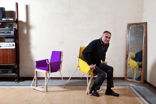 立つのが楽になる椅子「Assunta」