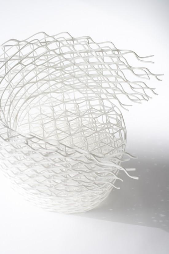 ダイヤモンドの結晶構造を活かして三次元プリンターで 「出力」されたイス「diamond chair」5
