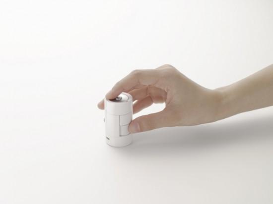 「電池」の形状をしたワイヤレスマウス「kandenchi」3