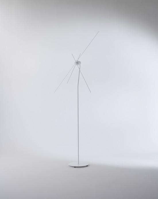 風のように時を感じる 「風車」のような時計「kazadokei」2