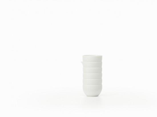 積み重ねられたように見える器「stack-sake set」4