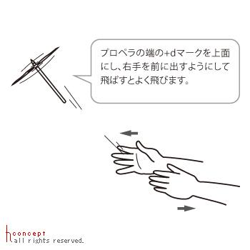 えんぴつが竹とんぼになるツール「Byuun」