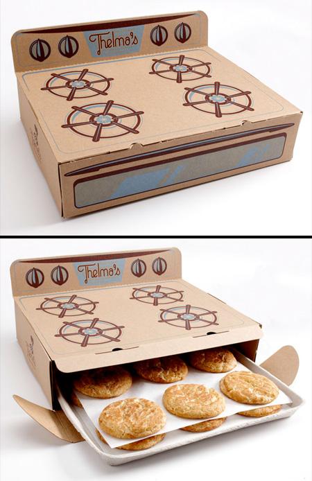 クリエイティブなパッケージデザイン