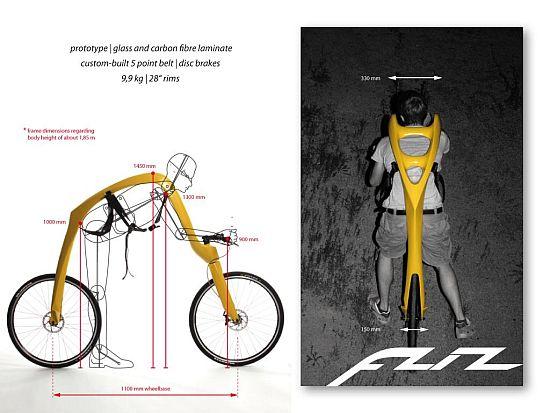 ある意味近未来的な自転車