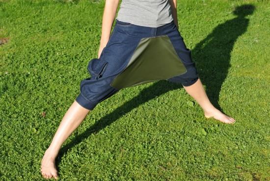 ピクニックで大活躍するパンツ