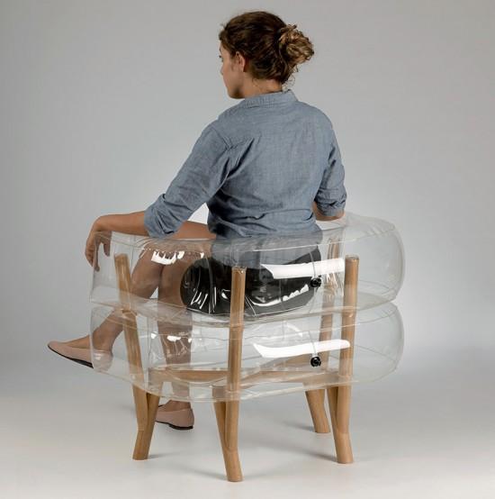 ふくらむ椅子