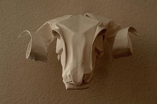 動物の折り紙