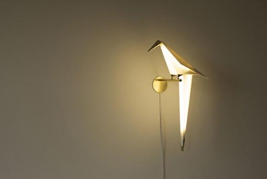 小鳥のライト