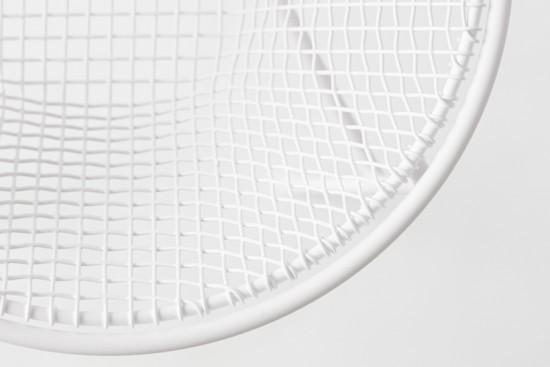 平安時代から続く京金網を手がける金網つじとnendoがこれボレーションして生まれた金網「basket-container」